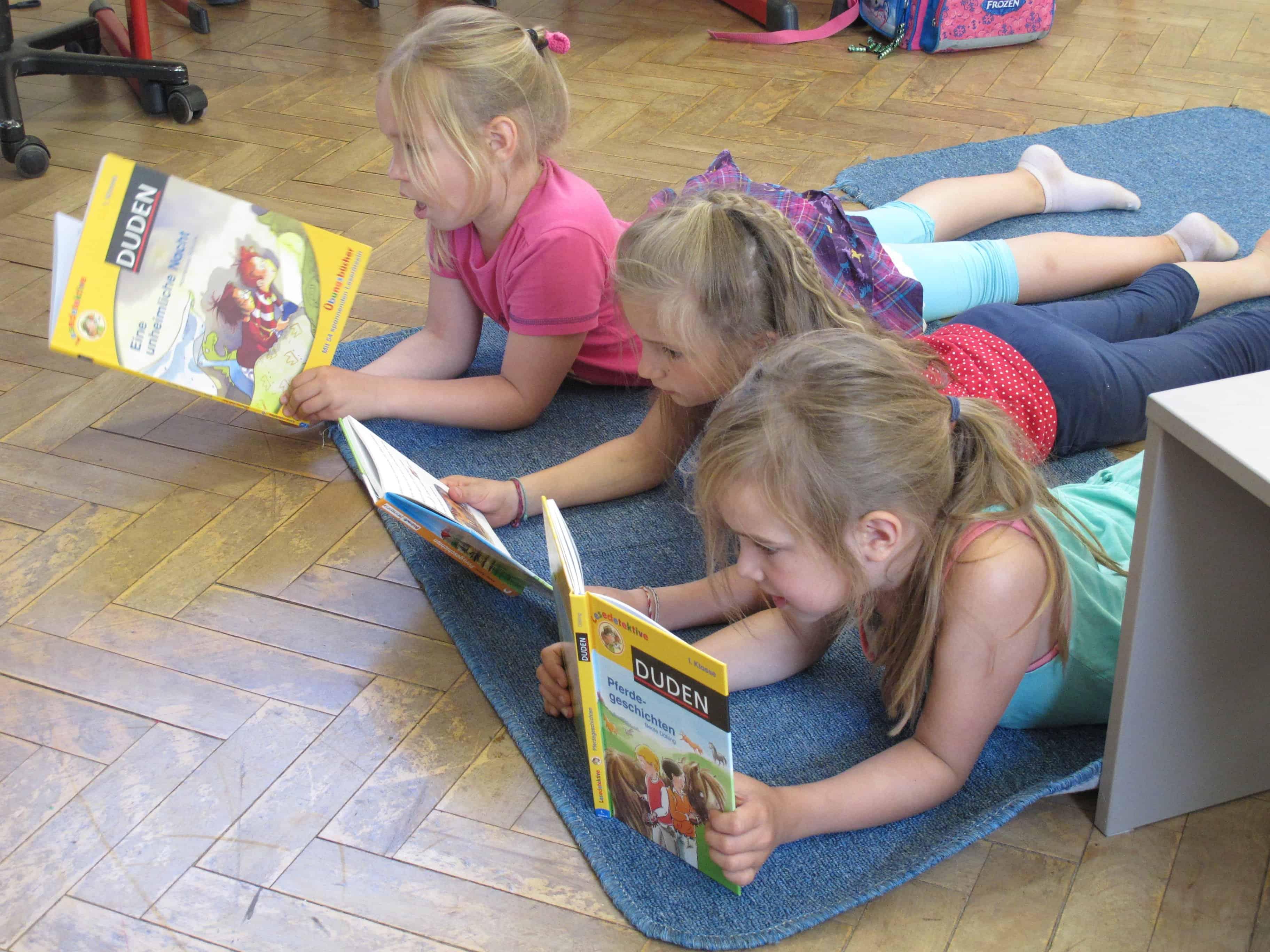 Lesende Schule
