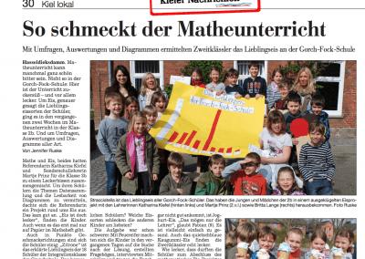 Besonderer Matheunterricht an der Gorch-Fock-Schule