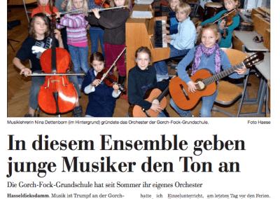 Die Gorch-Fock-Schule hat ein Orchester