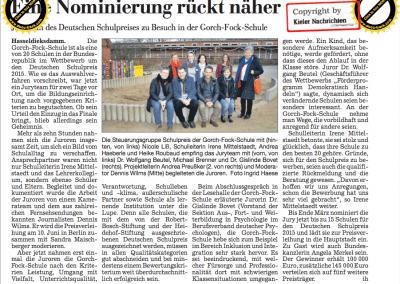 Jury des Deutschen Schulpreises an der Gorch-Fock-Schule